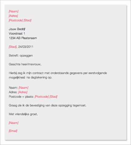 Opzeggen en Opzegbrieven   Opzeggen.nl